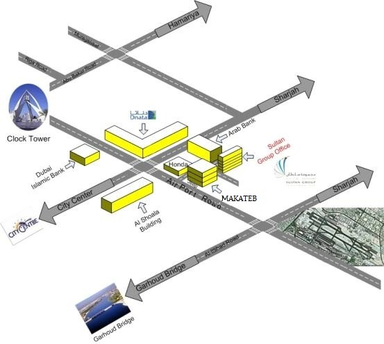 Sultan group location map New