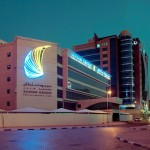 Port Saeed Building Night View - new